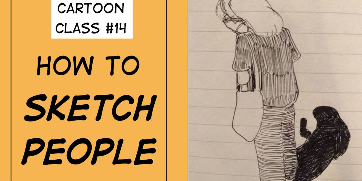 Online Cartoon Class 14 How To Sketch People Bangkok Drawing Group Internations