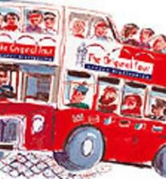 Hop-on, Hop-off Open-Top Double Decker Bus Tour of London