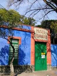 Museo Frida Kahlo, casa azul
