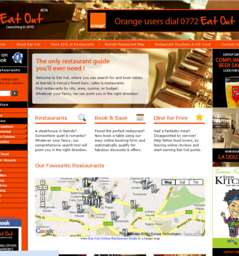 Eat Out website