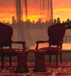 Sunset Lounge @ Mondrian Hotel