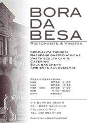 """Bora Da Besa """"Restaurant & Wine Bar"""""""