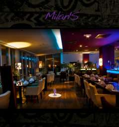 Milan's restaurant lounge bar