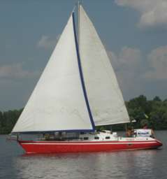 Sailing on the Dnipro