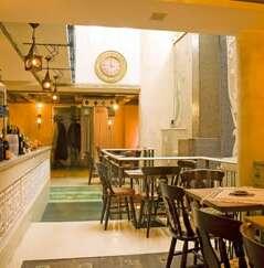the Restaurant Maroko, part of the Hotel Art