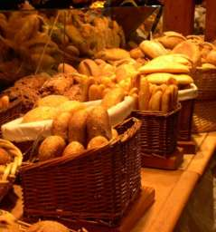 Good French bread and patisseries