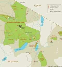 The Northern cirquit-Serenegti, Ngorongoro, Lake Manyara and Tarangire