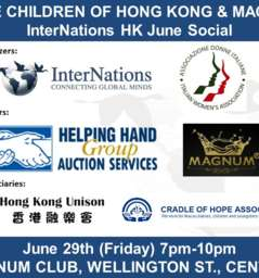 InterNations HK & IWA Social @ Magnum