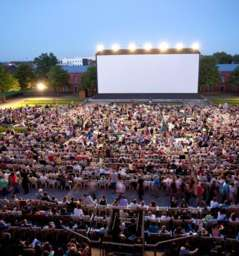 Open Air Movies at Schloss Gottesaue