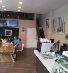 Wall street cafe