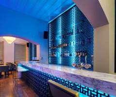 House bar and restaurant