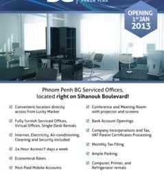 Phnom Penh BG Serviced Offices