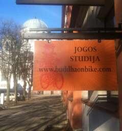 "Yoga studio ""Buddha on Bike"""