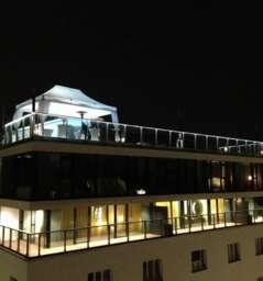 Café Bar Bloom on the rooftop of Hotel Lamée