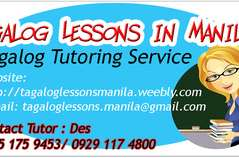 Tagalog Lessons in Manila