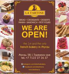 "La Tartine ""french pastry Bakery shop"""