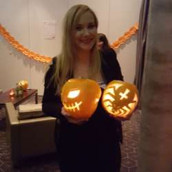Anna's amazing pumpkin carvings!