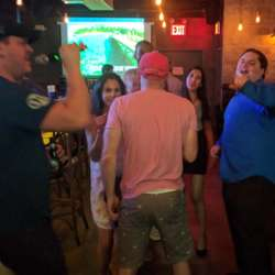 The official event, the after party, and post-after party karaoke!