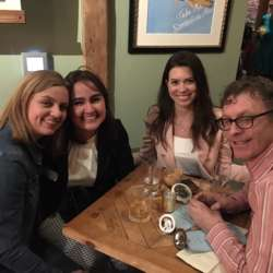 Three Brazilian sisters and Irish man.